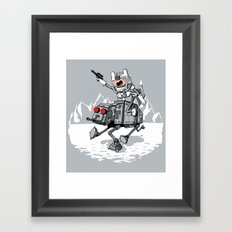 All Terrain Adventure Transport Framed Art Print