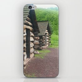 Cabins photography iPhone Skin