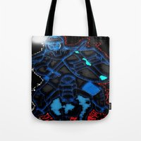 knight Tote Bags featuring Knight by Dmarmol