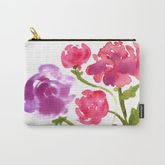Floral No. 1 Carry-All Pouch