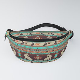 Boho cats | Oriental shorthair sunset Fanny Pack