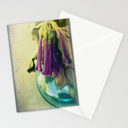 Trumpet Flowers Stationery Cards