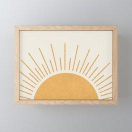 Sunshine Everywhere Framed Mini Art Print