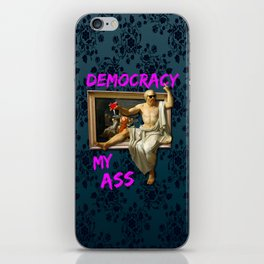 The Death (?) of Socrates iPhone Skin