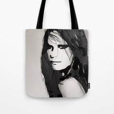 Face- Vogue Tote Bag