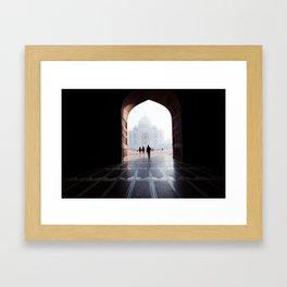 The Taj, Framed Framed Art Print