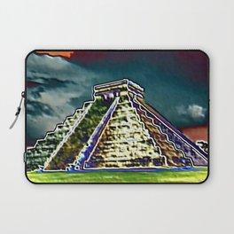 Chichen Itza Storm Laptop Sleeve
