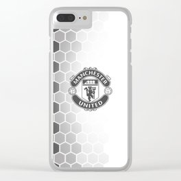 manchester united fc Clear iPhone Case