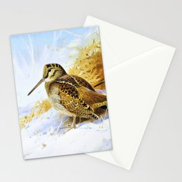 Winter Woodcock - Digital Remastered Edition Stationery Cards