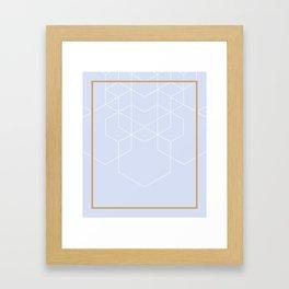 BLUEPASTEL Framed Art Print