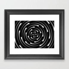 Abstract Spirals A Framed Art Print