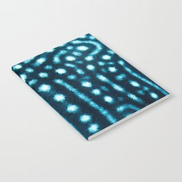 Whale Shark Spot pattern Notebook