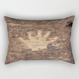 The Ancient Handshake Rectangular Pillow