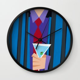 Suite and Tie Wall Clock