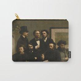 """Henri Fantin-Latour """"By the Table (Un coin de table)"""" Carry-All Pouch"""