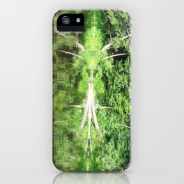 With arms Outstretched iPhone Case