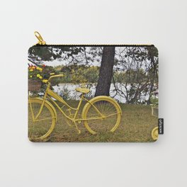 Yellow Bikes Carry-All Pouch