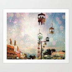 A Carnival In the Sky IV Art Print