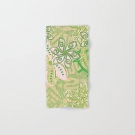 Polynesian Coral Jungle Print Hand & Bath Towel