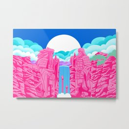 Choose Your Fighter Metal Print