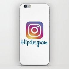 Hipstergram iPhone & iPod Skin