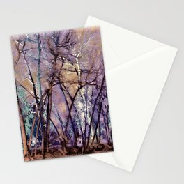 Trees are Poems That the Earth Writes Upon the Sky Stationery Cards
