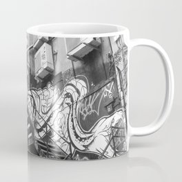 East London street art alleyway Coffee Mug