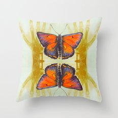 Experiment 2: cloning Throw Pillow