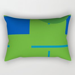 abstract geometric design for your creativity    Rectangular Pillow