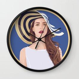 Queen of Saigon Wall Clock