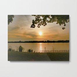 Elizabeth Park Sunrise Metal Print