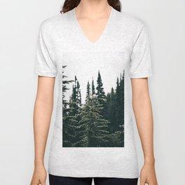Grey Jay in The Trees Unisex V-Neck