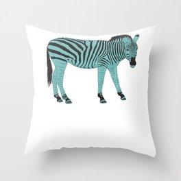 Zebrastyle Throw Pillow