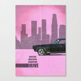 Driver Minimalist Canvas Print