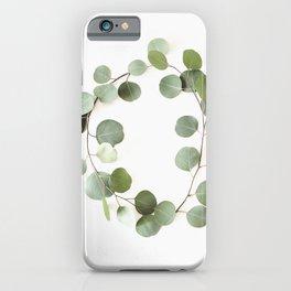 Eucalyptus Circle iPhone Case