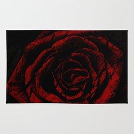 Dark Rose Rug