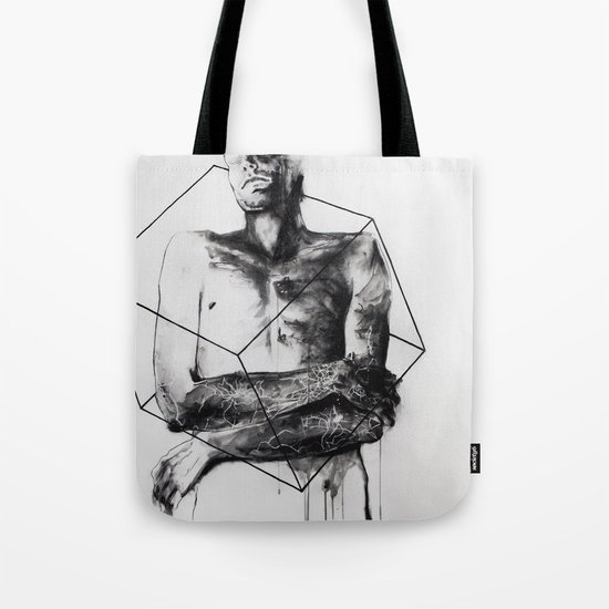 within the bounds of this single road Tote Bag