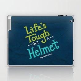 Life's Tough Laptop & iPad Skin