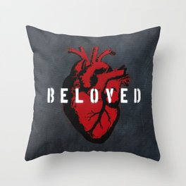 Graffiti Icons - Love Set Like A Seal Upon My Heart Throw Pillow