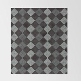 Golf Grey Throw Blanket