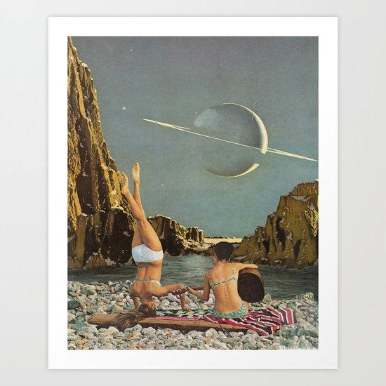 Serenade to Saturn by leafandpetal