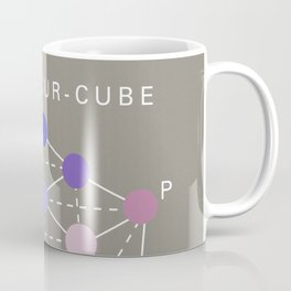 Illustration from the Manual of the science of colour by W. Benson, 1871, Remake (interpretation) Coffee Mug