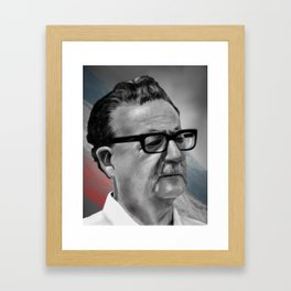 Salvador Allende Framed Art Print