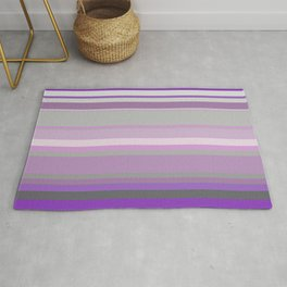Stripes in colour 10 Rug