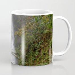 Multnomah Falls in Autumn Coffee Mug