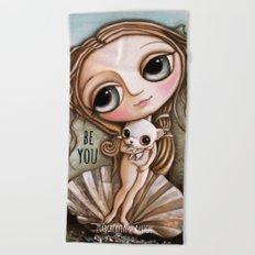 Venus and Chiwawa Beach Towel