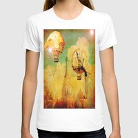 hot air balloons T-shirts featuring Hot-air balloons animal in Moscow by Ganech joe