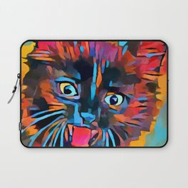 Fierce Kitty Laptop Sleeve