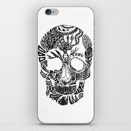Dia de los muertos by Floris V iPhone Skin