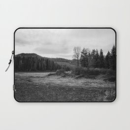 Fish Lake BW - Oregon Laptop Sleeve